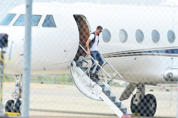 Cristiano Ronaldo apparently purchased himself a multi-million pound private plane.