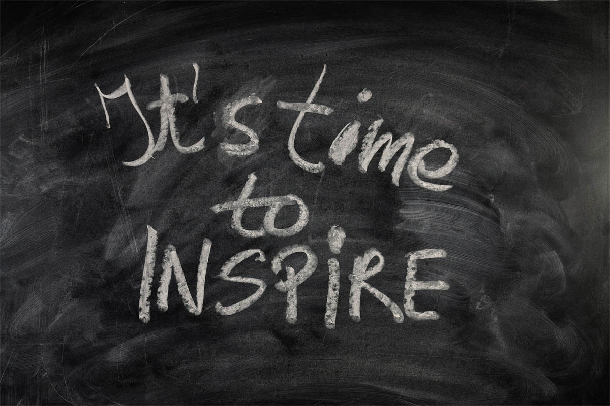 Inspiration: The Road to Intuition, time to ispire