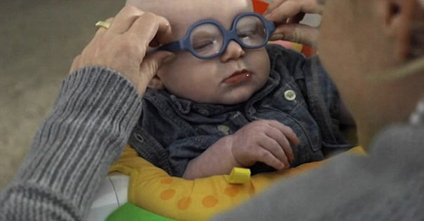 He suffers from a rare disease that impairs his sight