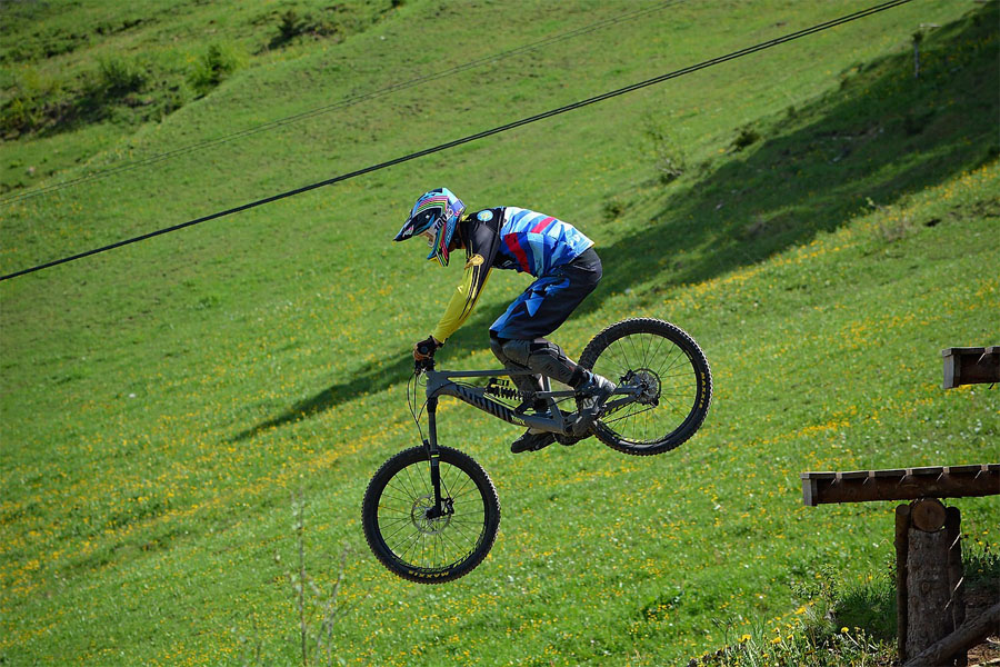 Riding Bike With The Right Body Position