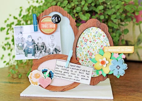creative photo frames PAPER