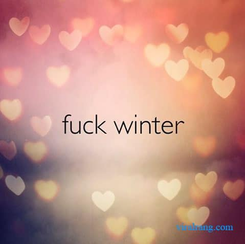 fuck winter
