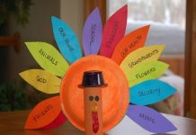 Arts And Crafts For Kindergarten Thanksgiving