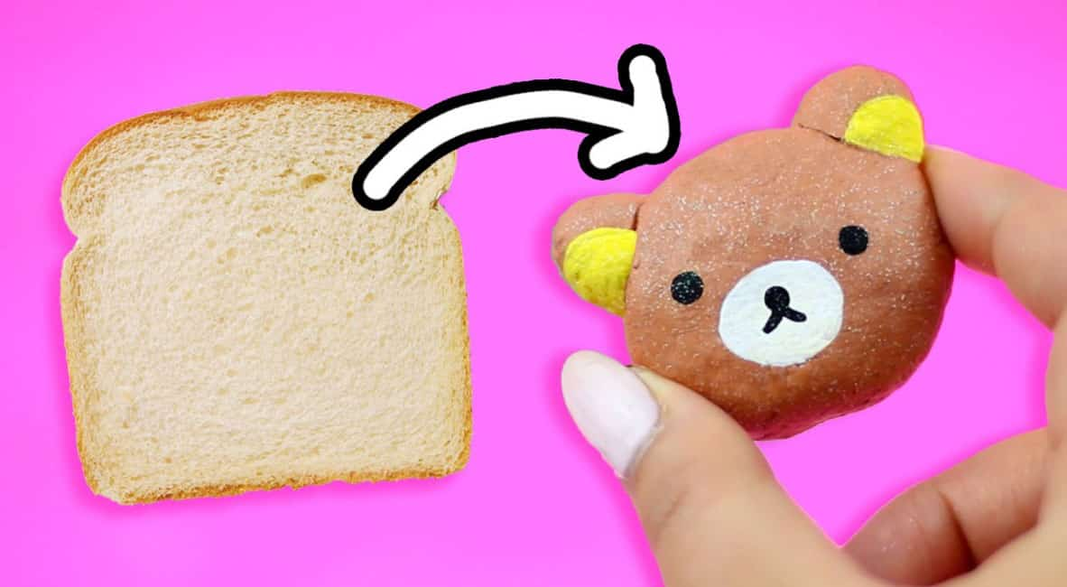 Bread and Glue Clay, Crafts Ideas And Activities For Kids In Rainy Day