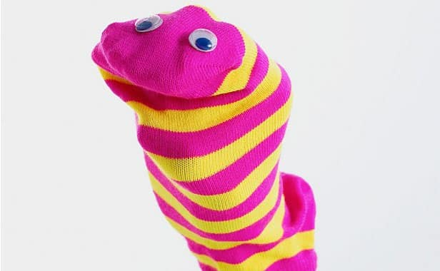 Sock Puppets, Crafts Ideas And Activities For Kids In Rainy Day