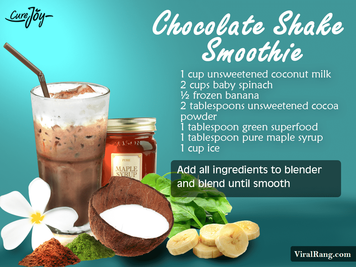 The Chocolate Shake Smoothie Juice