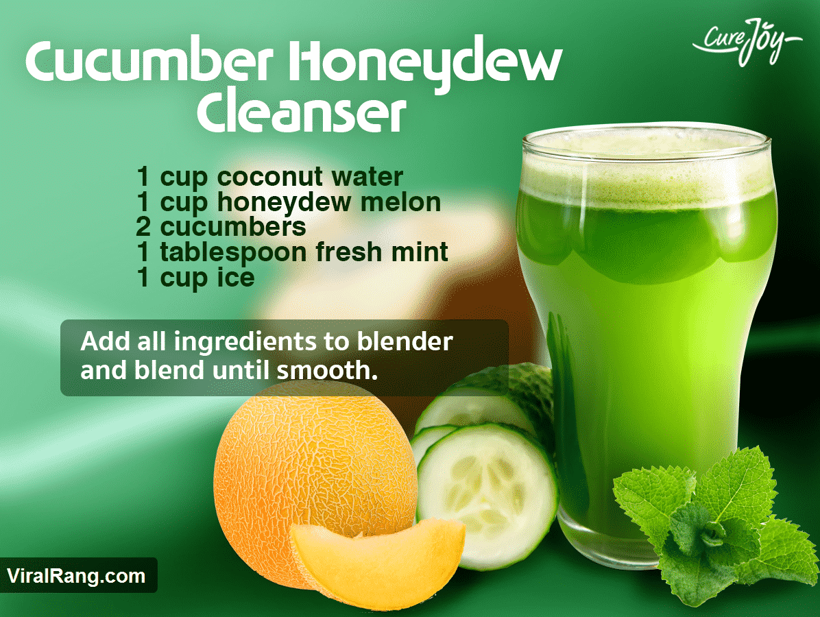 The Cucumber Honeydew Cleanser Juice