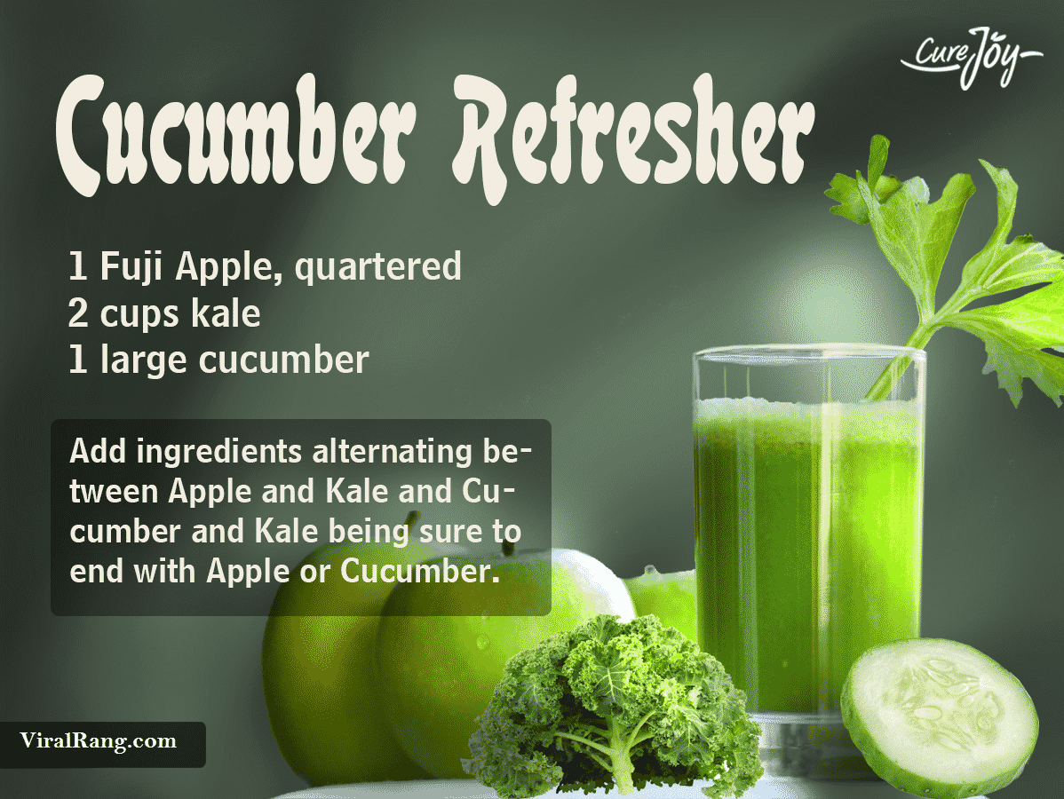 The Cucumber Refresher Juice