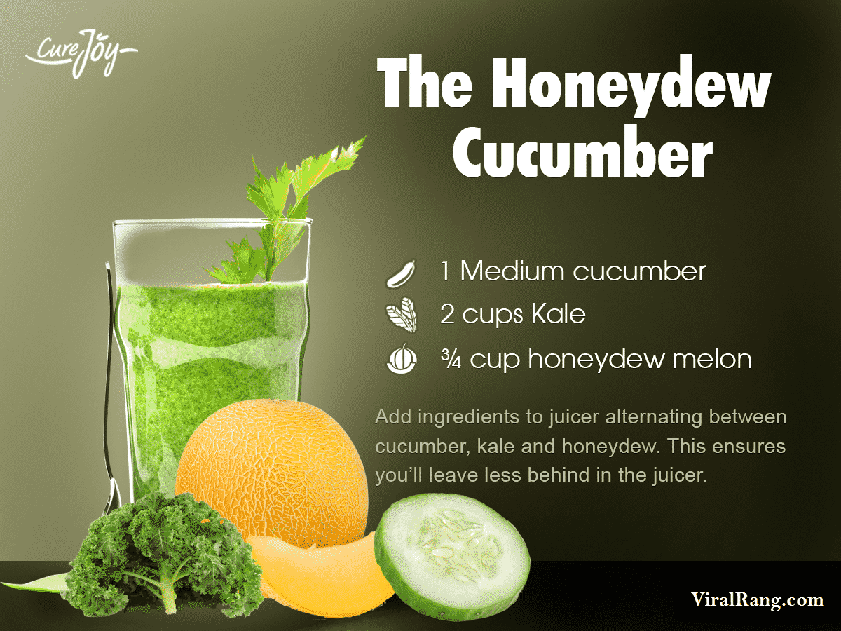 The Honeydew Cucumber Juice