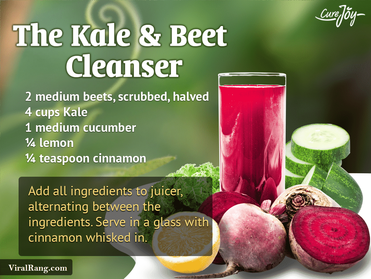 The Kale Beet Cleanser Juice