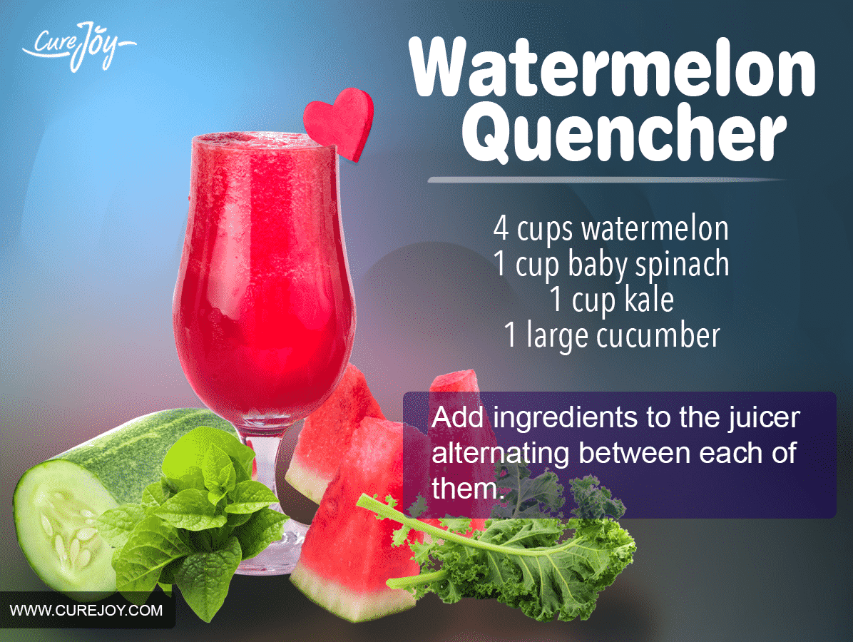 The Watermelon Quencher Juice