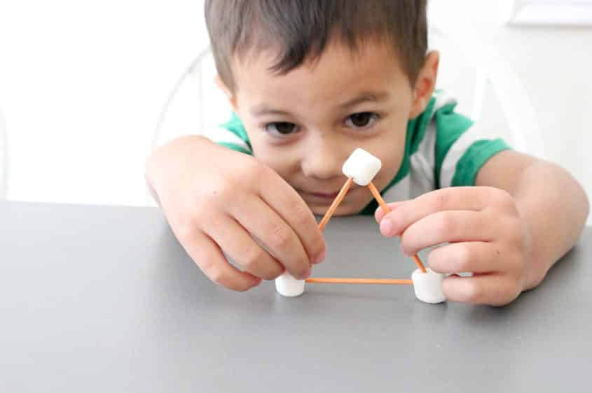 Toothpick shapes, Crafts Ideas And Activities For Kids In Rainy Day