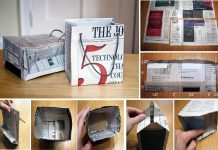 Making A Gift Bag from Recycled NewsPaper