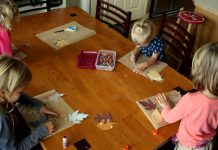 Thanksgiving Placemat Crafts