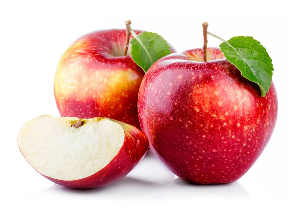 Apple: lowers blood cholesterol and reduce lengths of common cold