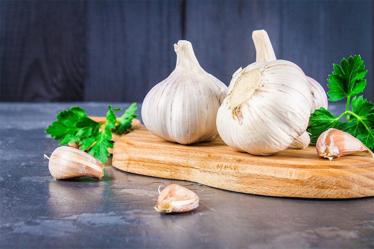 Garlic: reduces colds and flu, and good for cardio