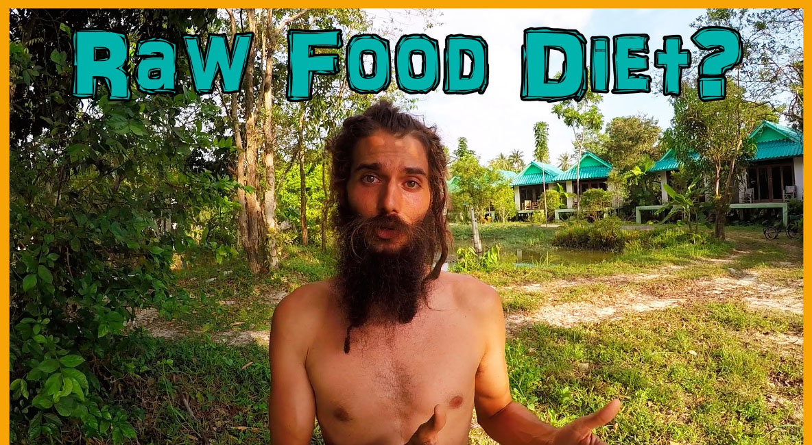 Human Ape in the Raw Food Diet