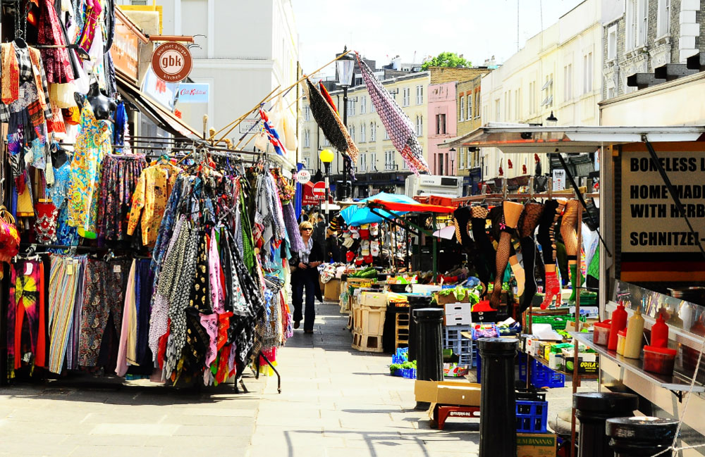 The Portobello Road Market