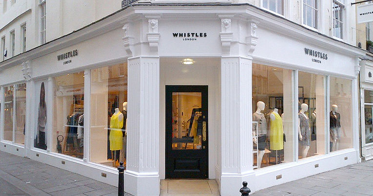 Whistles clothing shop London