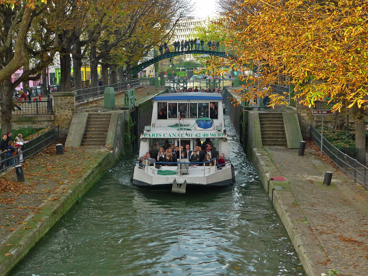 Canal Saint-Denis Paris