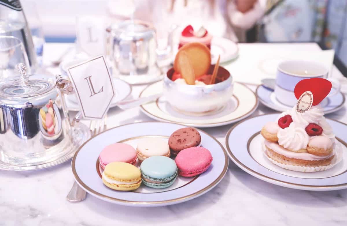 Laduree, Eat in Laduree Paris