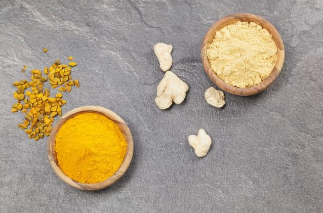 Turmeric and ginger - These have powerful anti-inflammatory properties which accelerate recovery and reduce soreness
