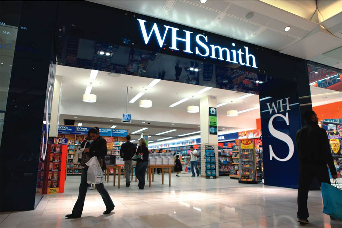 W.H. Smith Store Paris