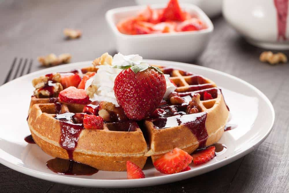 waffles, and French toast