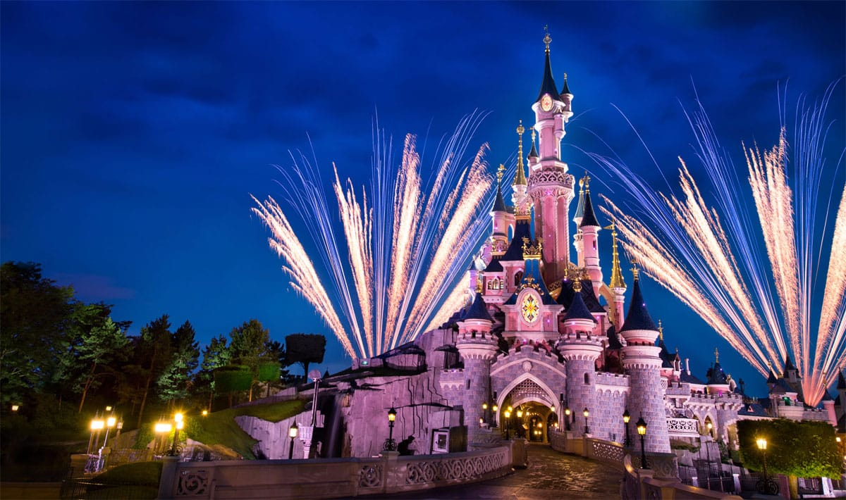 Disneyland Paris Night
