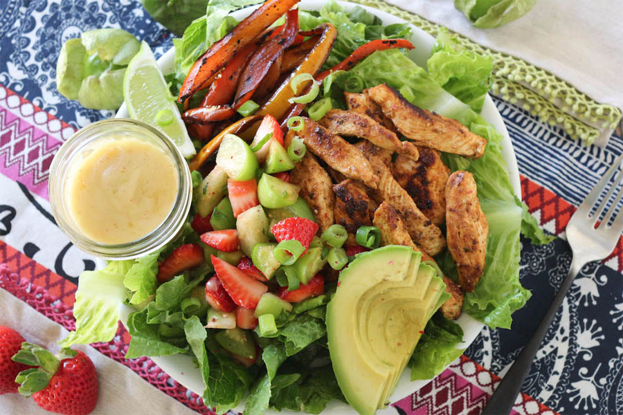 chicken-tomatillo-salad