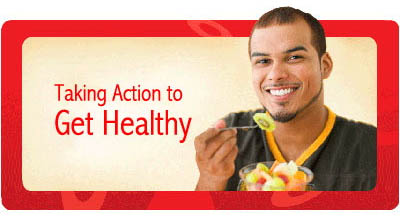 take action and eat healthy