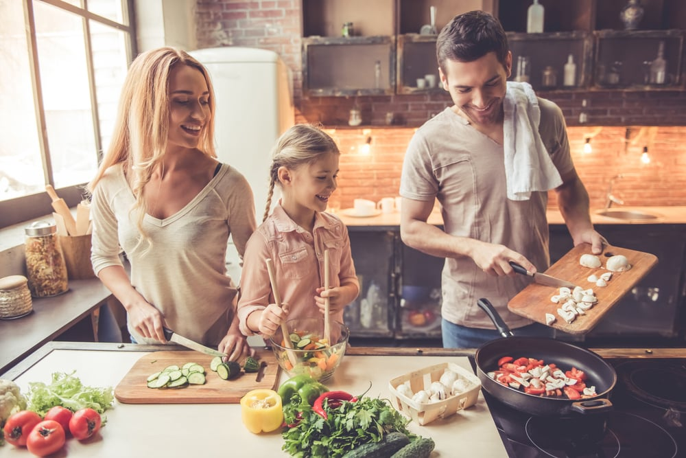 The Benefits of Cooking At Home