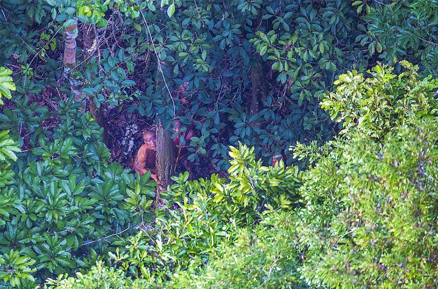 Incredible Photos Of An Uncontacted Amazon Tribe