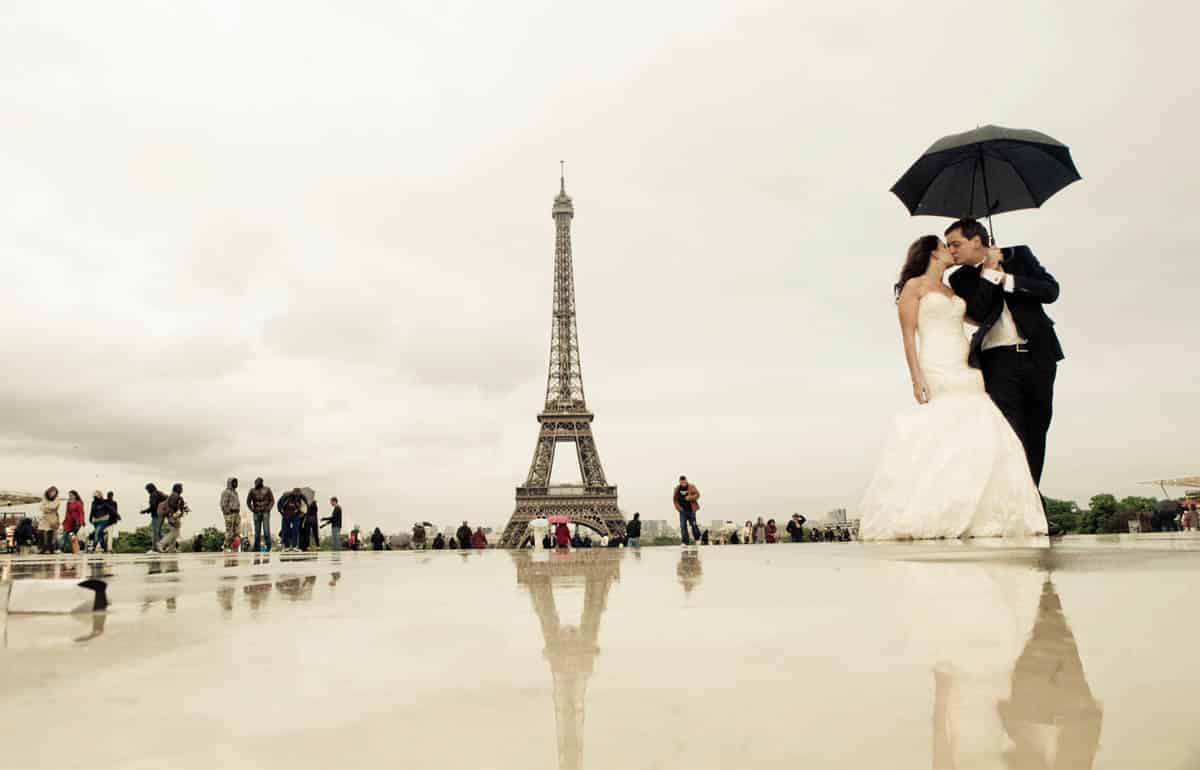 Wedding in City of Love Paris