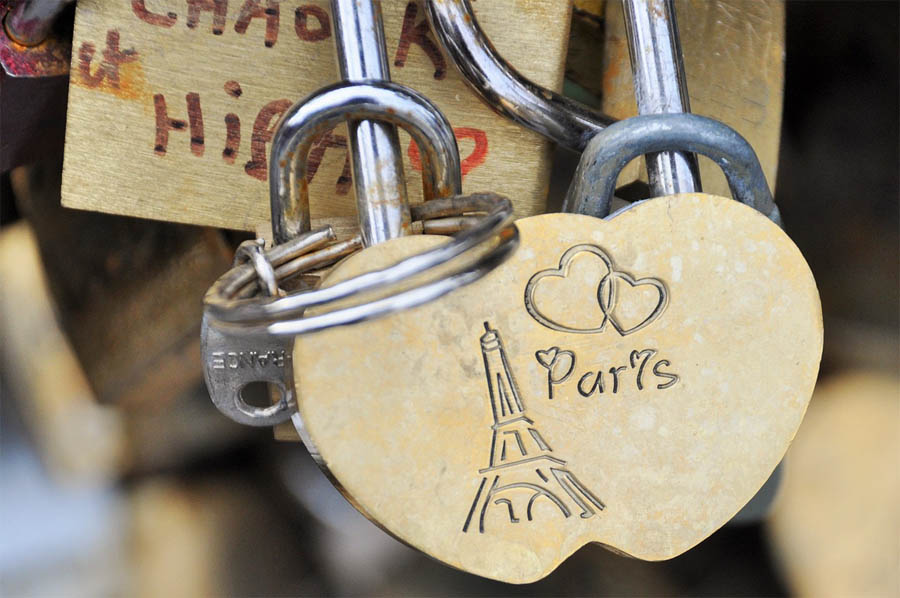 Wedding in Paris and Love