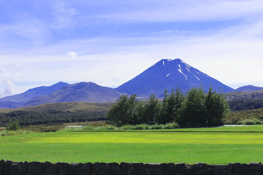 Ngauruhoe Mountain New Zealand