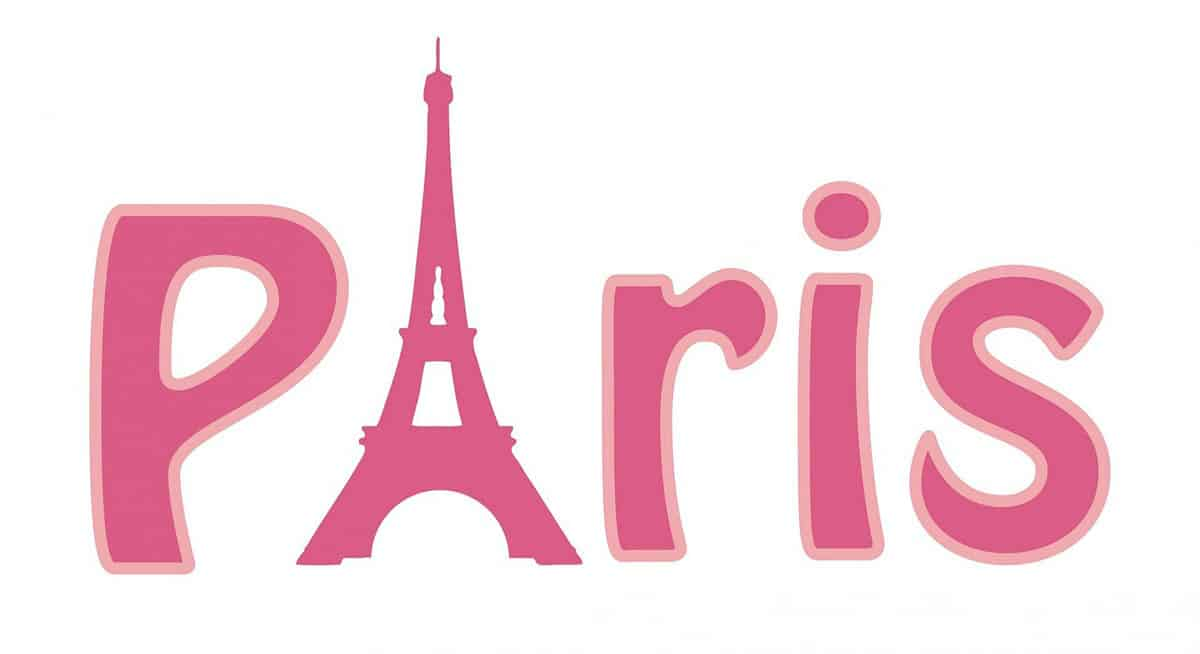 Eiffel Tower Paris logo