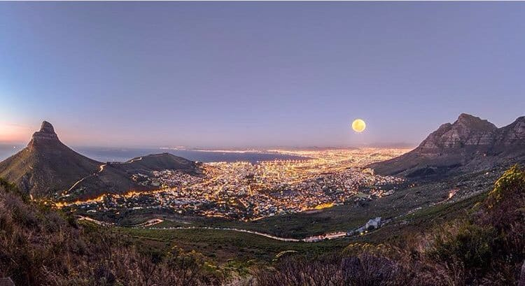 Cape Town residents got its fair share of last night's supermoon too