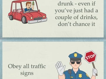 9 Driving Safety Tips Infographic