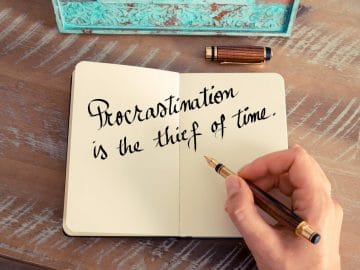 How Procrastination Slows You Down