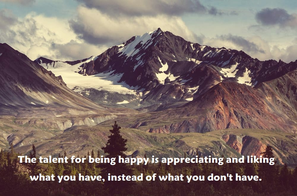 what you have, instead of what you don't have. - inspirational quotes