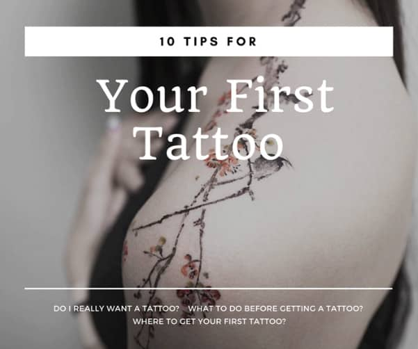 10 Tips For Your First Tattoo