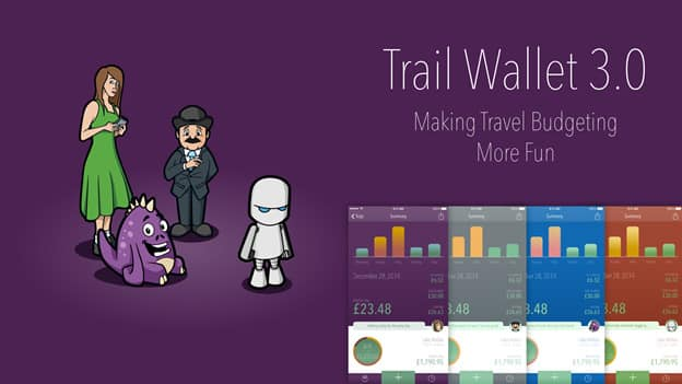 Trail Wallet — responsible travelling