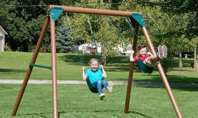 Fun Swing Set Features