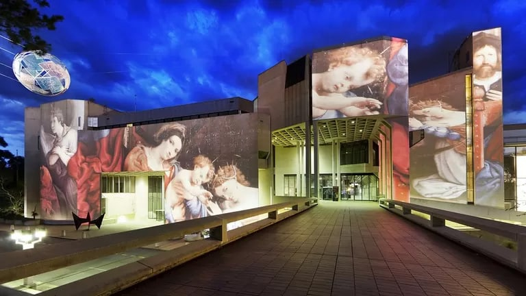never miss the National Gallery of Australia in Canberra