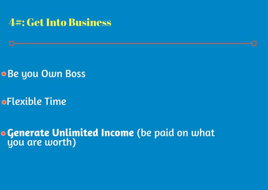 Get Into Business Be you Own Boss