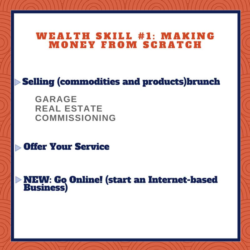 WEALTH SKILL Making Money from Scratch