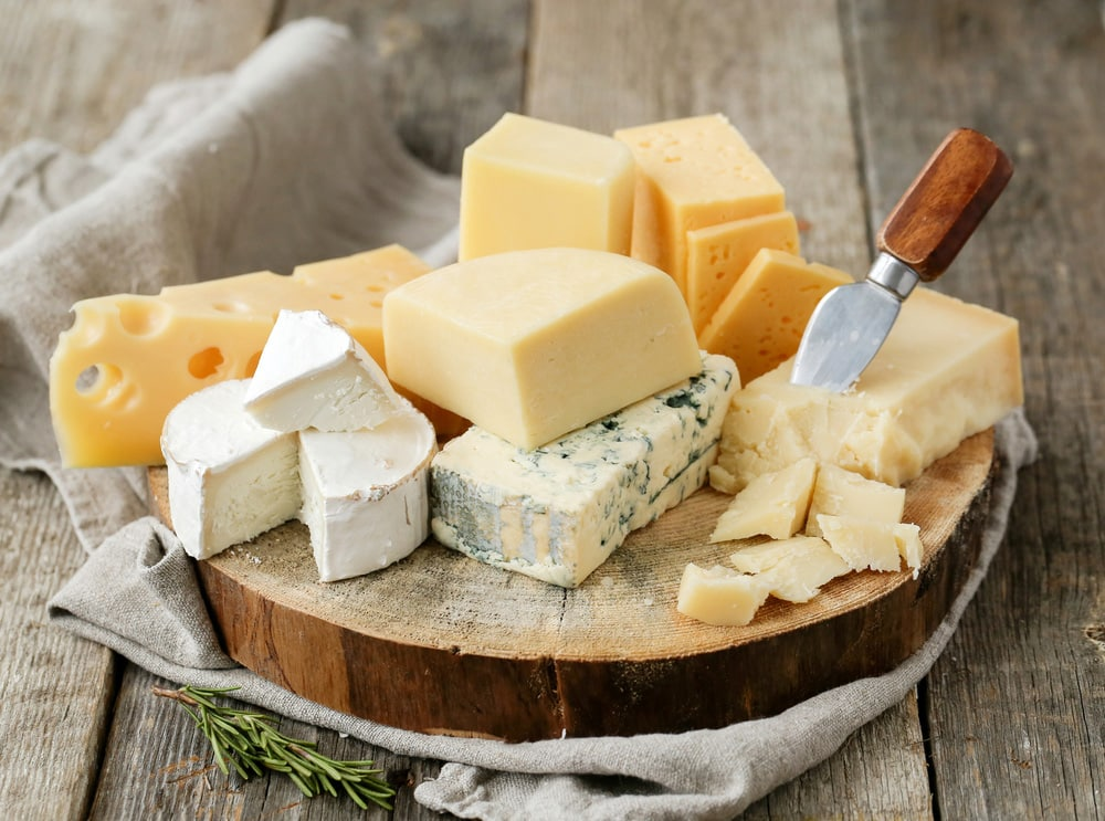 Cheese fat, away from eating food that contains fat