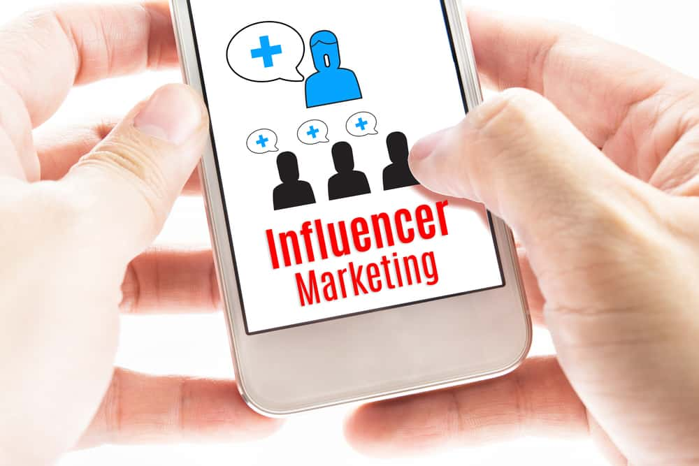 Finding brands to work with through influencer marketplaces