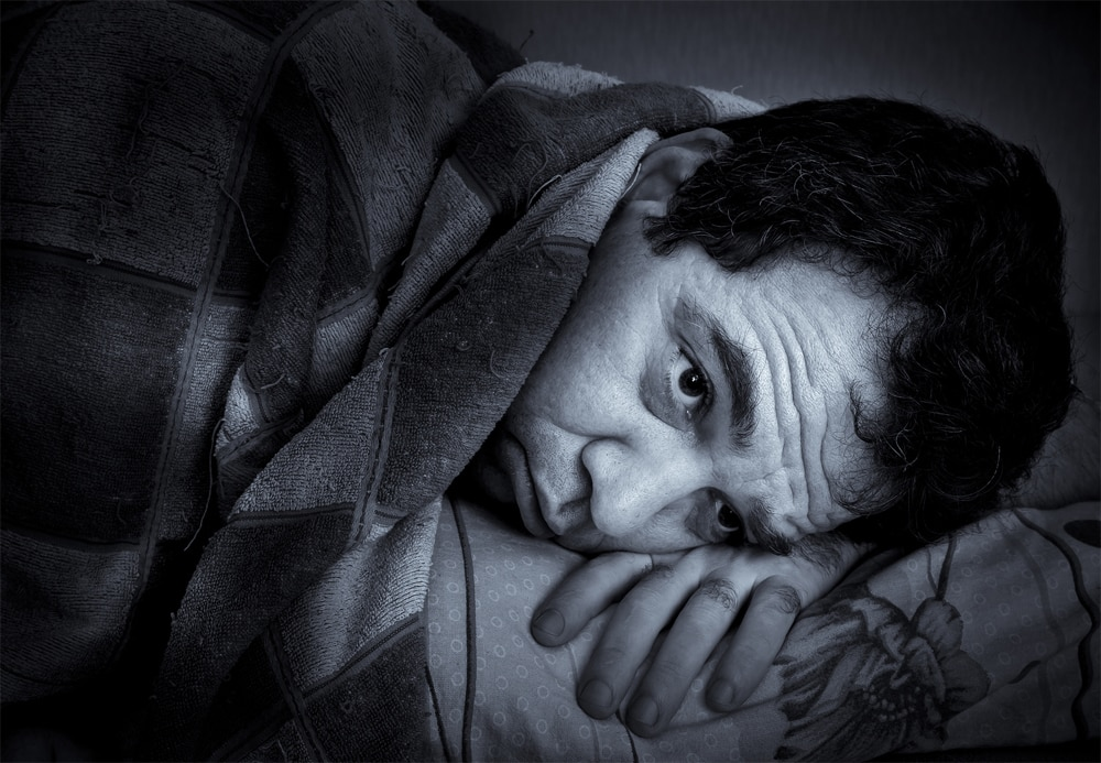 People who suffer from Fatal Familial Insomnia simply can't sleep. It starts gradually but soon the sufferers can no longer sleep at all